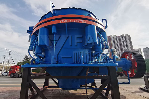 Cone crusher delivery